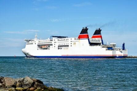 Ship diesel exhaust gases